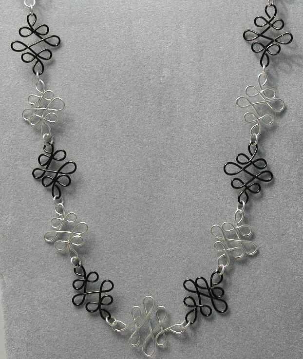 Black&Silver Necklace