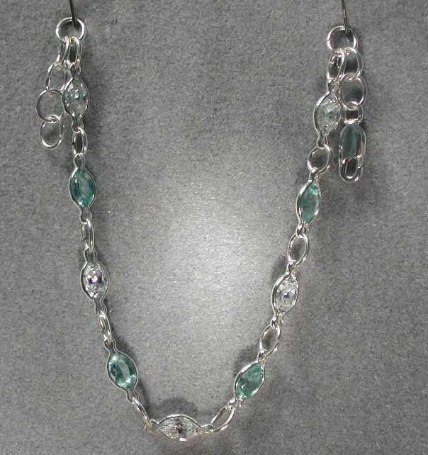 BlueTopaz&CZ Bracelet
